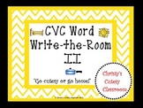 CVC Word Write-the-Room II