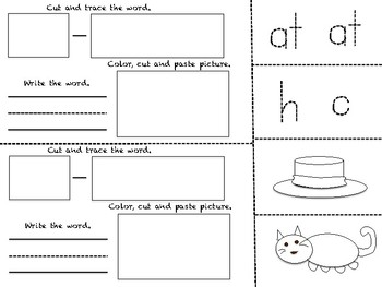 CVC Word families Book (130 Pages)