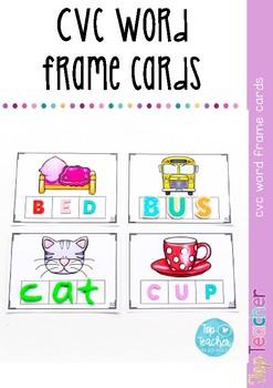 CVC  Word frames