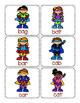 CVC Word Game:  Superheros