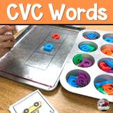 CVC Word Magnetic Letter Fun