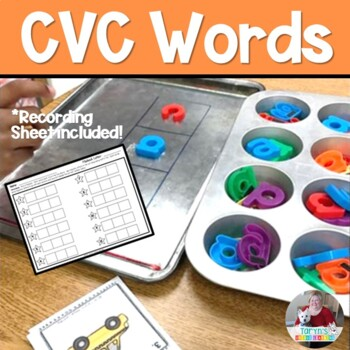 CVC Word Magnetic Letter Fun