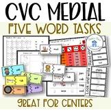 CVC Medial Sound Words