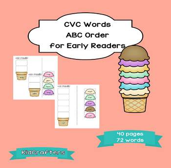 CVC Words - ABC Order
