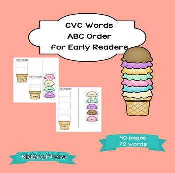 CVC Words - ABC Order