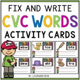 CVC Words Activities - CVC Words Kindergarten