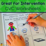 CVC Words: Activities & Games Set 1