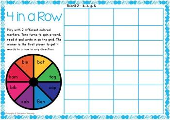 CVC Words: Activities & Games Set 2