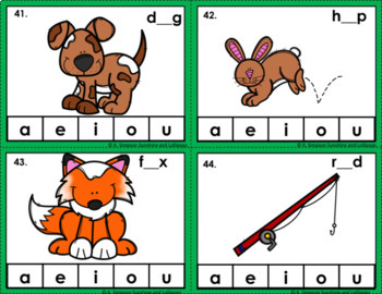CVC Words Activities, Sorts, Clips Cards and More St. Patrick's Day Theme