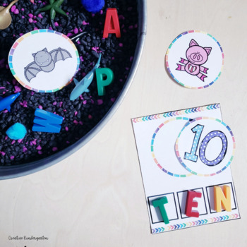 CVC Word Activities for Kindergarten Literacy Centers