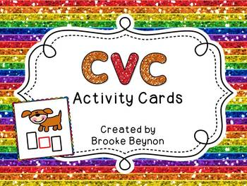 CVC Words Activity Cards