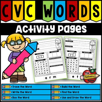 CVC Words Activity Pages