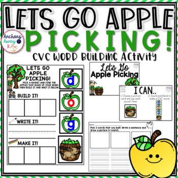 CVC Words - Apple Themed