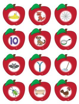 CVC Words - Apple Themed File Folder Activities