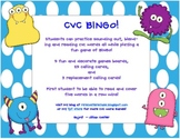 CVC Words BINGO!