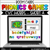 CVC Words BOOM Cards FREEBIE {Distance Learning}