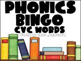 Phonics Bingo {CVC Words}