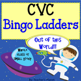 CVC Words Bingo Ladders