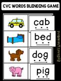 CVC Words Kindergarten Game: Read and Match