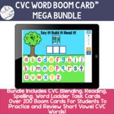 CVC Words Blending, Reading, Spelling MEGA BUNDLE
