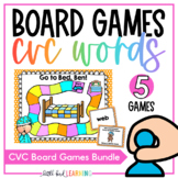 CVC Words Board Game Bundle