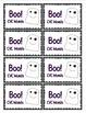 CVC Words - Boo! A Halloween Game