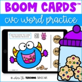 CVC Words Boom Cards - Feed the Monster! | Distance Learni