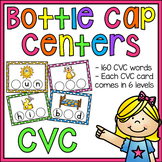 CVC Words Bottle Cap Centers BUNDLE