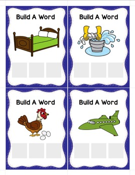 CVC Words - Build a Word