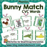 CVC Words - Bunny Match