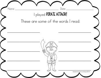 "CVC Words: ""Buried Treasure!"" Game - Short E Words Edition (CCSS)"