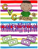 CVC Words CONCENTRATION!