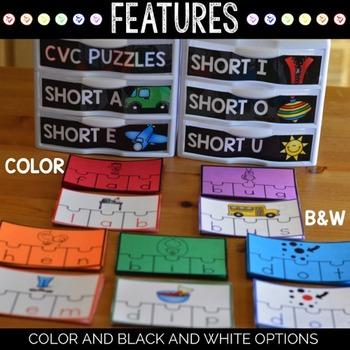 Word Families Center | CVC Words Center