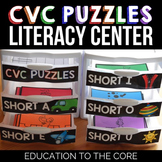 Word Families Center | CVC Words Center | Word Families Games