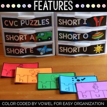 Word Families Center   CVC Words Center   Word Families Games