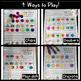Kindergarten CVC Words Chip Match