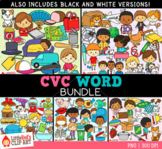 CVC Words Clip Art Bundle