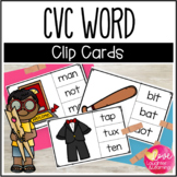 CVC Word Clip Cards!