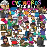 CVC Words Clipart- Medial I Words {CVC Words Clipart}