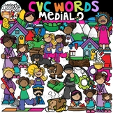 CVC Words Clipart- Medial O Words {CVC Words Clipart}
