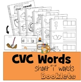"""CVC Words Cut & Paste Booklet - Short """"i"""" vowel"""