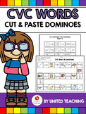 CVC Words Cut and Paste Dominoes