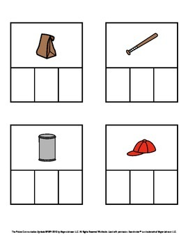 CVC Words - Decodable Words with Pictures (Short A)