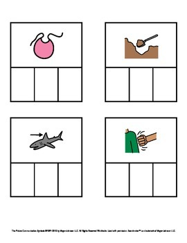 CVC Words - Decodable Words with Pictures (Short I)
