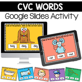 CVC Words Digital Center for Google Slides™