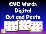 CVC Words Digital Cut and Paste