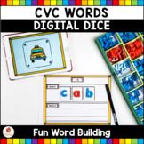 CVC Words Digital Dice