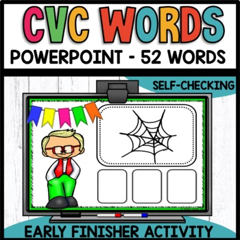 CVC Words EARLY FINISHER PPT