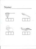 CVC Words/ Elkonin boxes