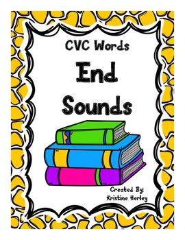 End Sounds-CVC Words